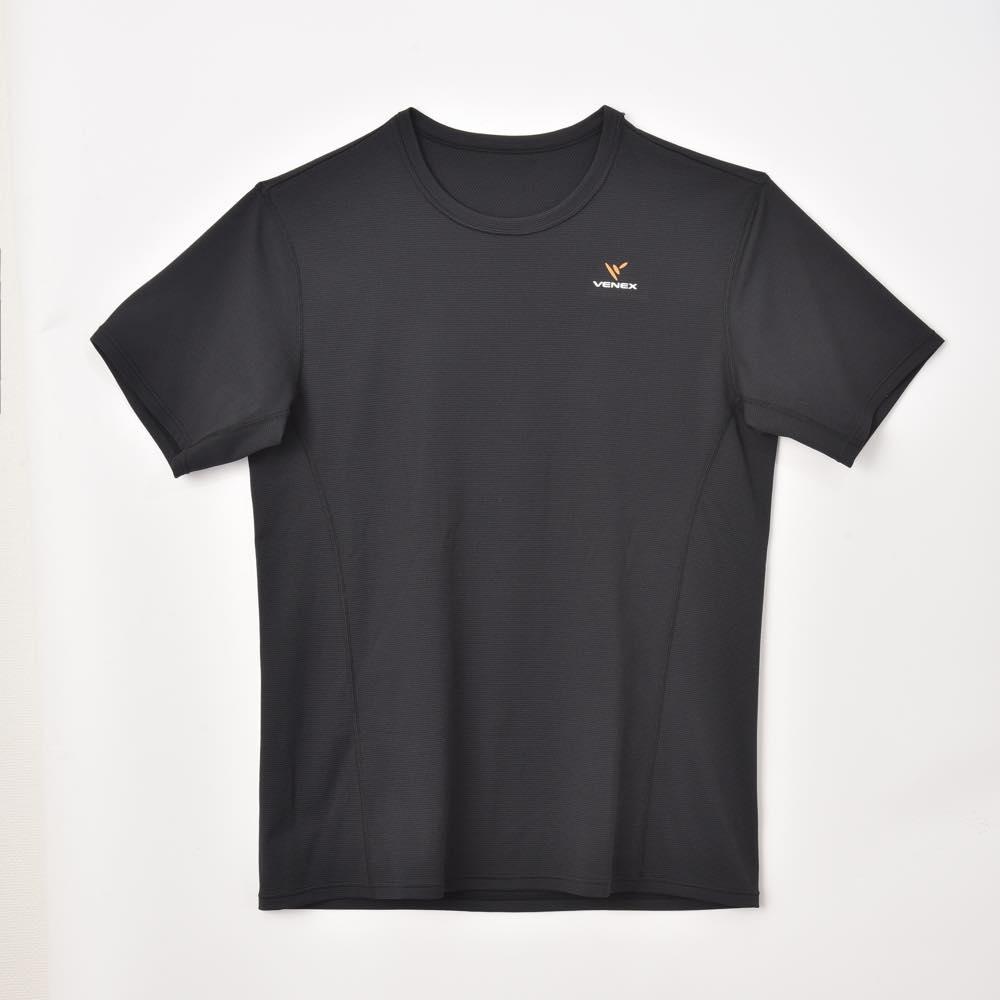 【ベネクス】スタンダードドライ ショートスリーブ メンズ L ブラック