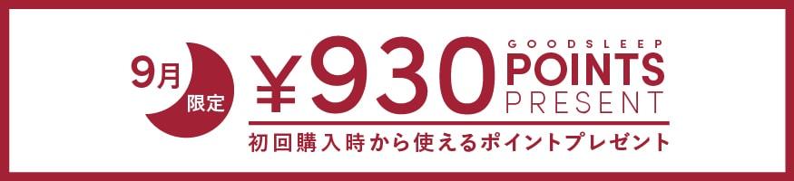 930ポイントプレゼント