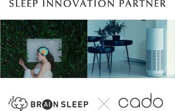 SLEEP INNOVATION PARTNER BRAIN SLEEP×cado