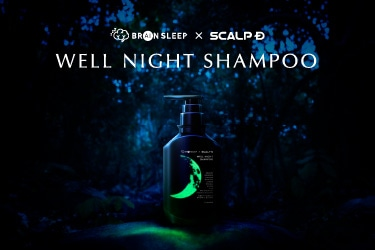 BRAIN SLEEP × SCALP D - WELL NIGHT SHAMPOO